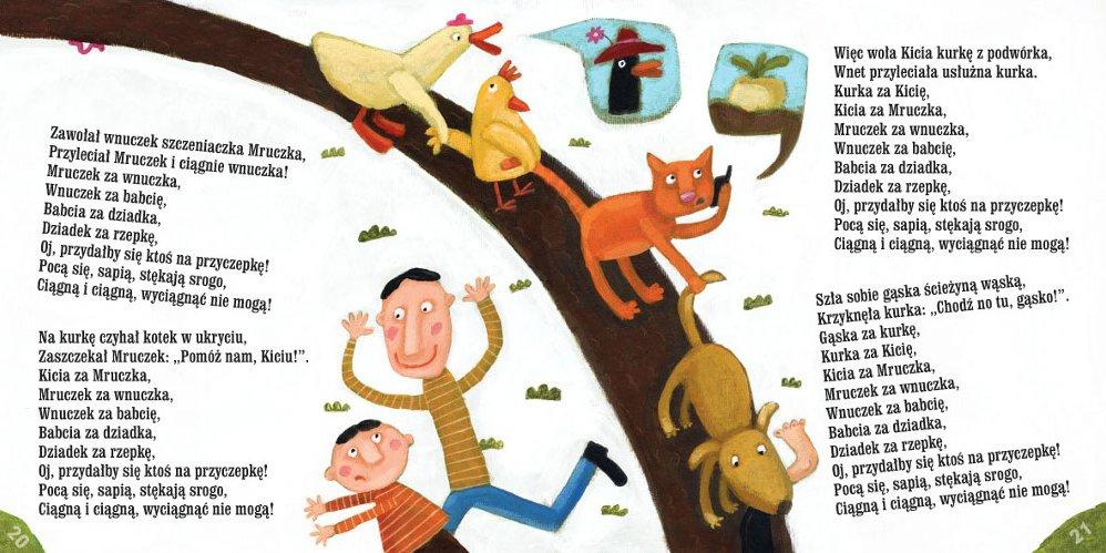 Rzepka Julian Tuwim Ambelucjapl Książki Dla Dzieci