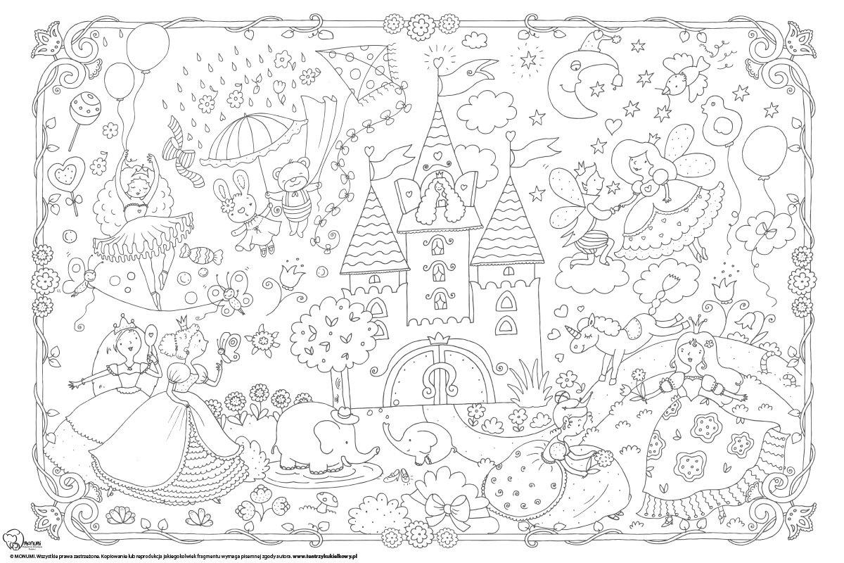 Kolorowanka Podlogowa Ambelucja Pl Ksiazki Dla Dzieci