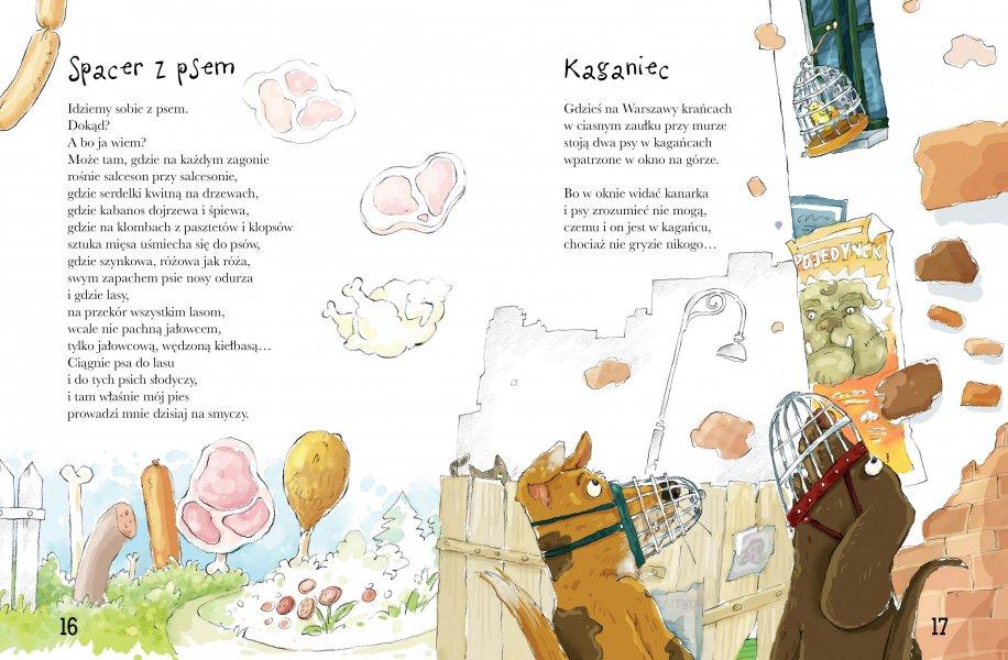 Wiersze Pod Psem Ambelucjapl Książki Dla Dzieci